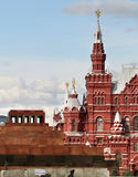 Lenin's Mausoleum Royalty Free Stock Photography