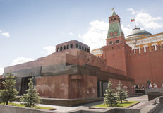 Lenin's mausoleum at Red Square Royalty Free Stock Image
