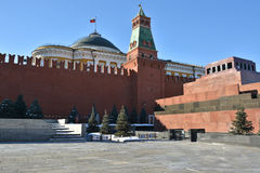 Lenin`s Mausoleum. Stock Photography