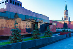 Lenin`s Mausoleum in Red Square, Moscow Stock Photos