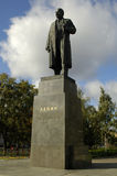 Lenin`s statue. The Lenin`s statue in a center of Vologda. Russia Royalty Free Stock Photography