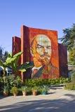 Lenin in Sochi. Mosaic portrait of Vladimir Lenin in Sochi Royalty Free Stock Photo
