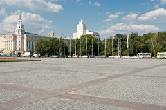 Lenin square Royalty Free Stock Photos