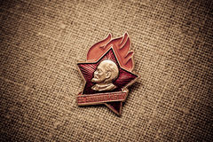 Lenin star Stock Images
