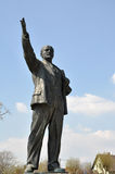 Lenin statua w Budapest zdjęcia stock