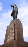 Lenin statue Royalty Free Stock Photography
