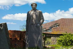 Lenin statue Stock Images