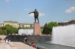 Lenin-Statue im St. Petersburg, Russland Stockbild