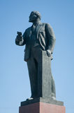 Lenin statue Royalty Free Stock Photos