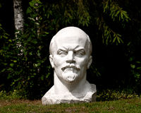 Lenin. Statue of soviet leader Lenin Royalty Free Stock Photo