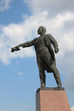 Lenin statue in St. Petersburg, Russia Stock Photography