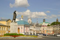 Lenin Statue Royalty Free Stock Images