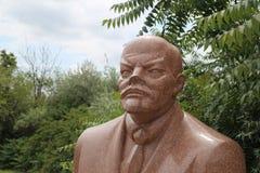 Lenin statue Royalty Free Stock Photo