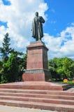Lenin Statue, Yalta, Crimea Stock Photo
