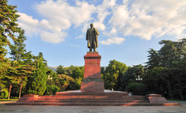 Lenin Statue, Yalta, Crimea Stock Images
