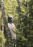 Lenin staty royaltyfri bild