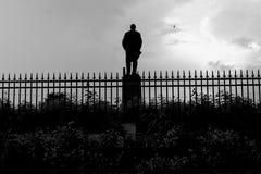 Lenin staty Ryssland fotografering för bildbyråer