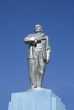 Lenin stone monument Royalty Free Stock Photos