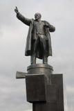 Lenin sull'autoblindata Fotografie Stock
