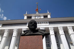 Lenin in Tyraspol Stock Photo