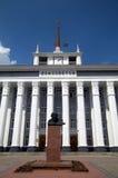 Lenin in Tyraspol stock images