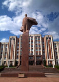 Lenin in Tiraspol Stock Photo