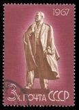 Lenin in Ulyanovsk lizenzfreie stockfotos