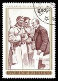 Lenin und die Soldaten Lizenzfreie Stockfotografie