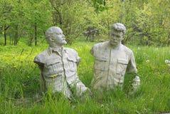 Lenin und Stalin lizenzfreies stockfoto