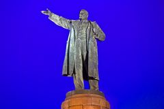 Lenin in Volgograd Royalty Free Stock Photos