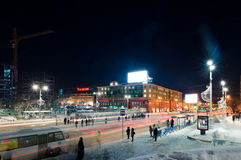 Lenina street  of Yekaterinburg Royalty Free Stock Photography