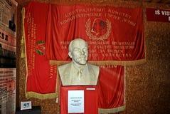 Lenine in het Grutas-park dichtbij Druskininkai-stad Royalty-vrije Stock Afbeelding