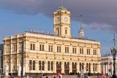 Leningradsky railway station Stock Image