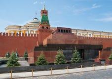 Lenins mausoleum royaltyfri fotografi