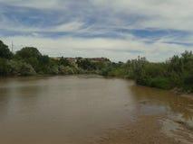 leniwa rzeka Zdjęcia Royalty Free