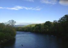 leniwa rzeka Fotografia Stock
