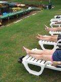 leniwe jeziorne nogi Obrazy Royalty Free