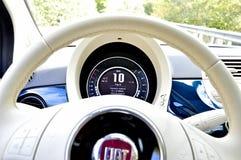 Lenkrad von Fiat Lizenzfreies Stockfoto