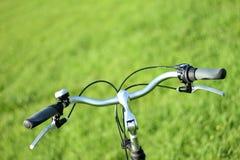 Lenkstange eines Fahrrades Stockbilder