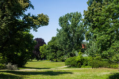 Lennepark, Frankfurt (Oder) Stock Images