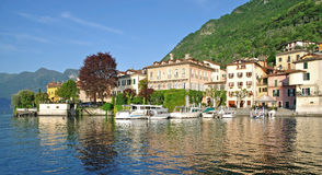 Lenno,Lake Como,Comer See,Italy Royalty Free Stock Photography