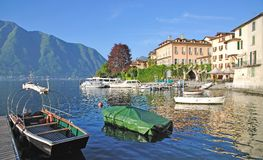 Lenno,Lake Como,italian Lake District Royalty Free Stock Photo