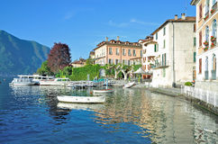 Lenno at Lake Como,Italy Royalty Free Stock Photography