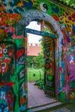 Lennon墙壁 库存图片