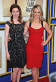 Lennon Parham & Jessica St. Clair Royalty Free Stock Images