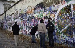 Lennon Wall Stock Image