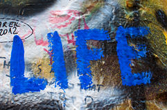 Lennon wall in Prague Royalty Free Stock Image