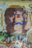 The Lennon Wall ,PRAGUE, CZECH REPUBLIC Stock Photo