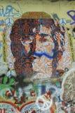 Lennon Wall, PRAGUE, TJECKIEN Arkivfoto