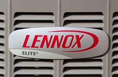 Lennox Corporate Logo et marque déposée photographie stock